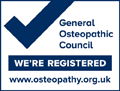 General Osteopathic Council badge