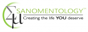 Sanomentology logo - Creating the life you deserve